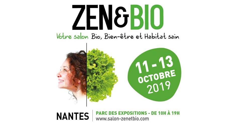 11, 12 et 13 Octobre - Salon Zen et Bio à Nantes (44)